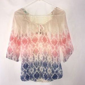 Maurices Sheer Ombré Blouse